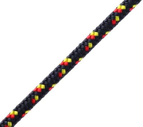 Schot ROOSTER Polilite, 7mm, schwarz