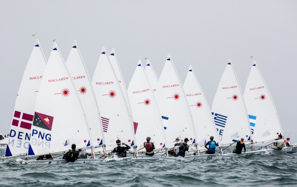 Charterboot Laser ISAF Worlds 2019 Radial, ice blue
