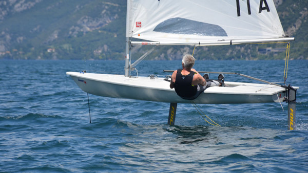 FOILSZ - Laser Foiling Kit in Aktion am Gardasee