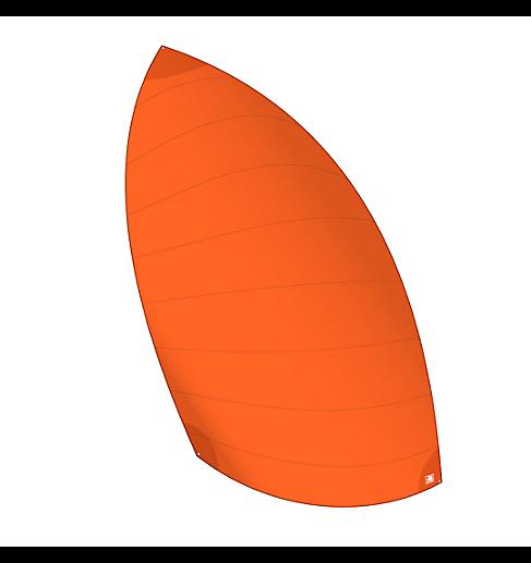 Gennaker VAGO Race (orange)
