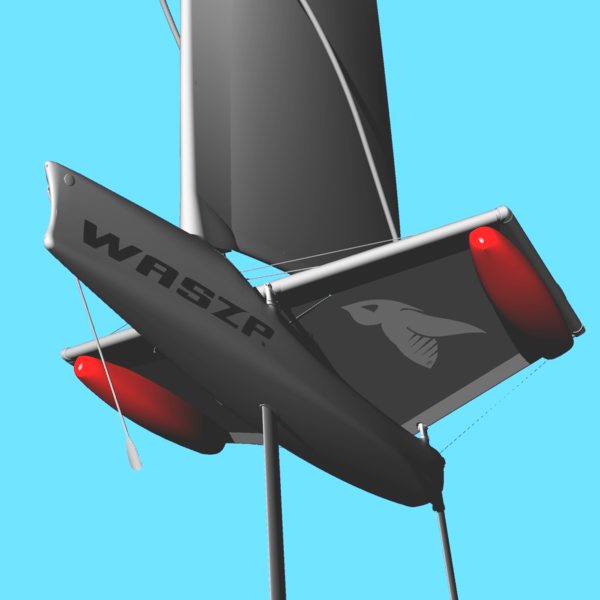 WASZP Cruiser Wing Tramp Set