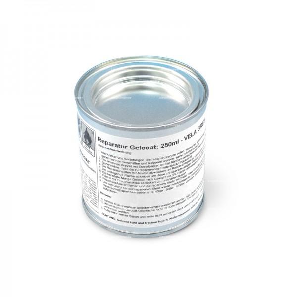 Gelcoat LASER vela grey, mit Härter (250ml) (ca. ab Segelnummer 168000)