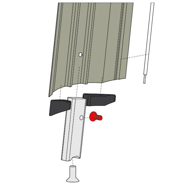 Foil Plug Fixing Bolt