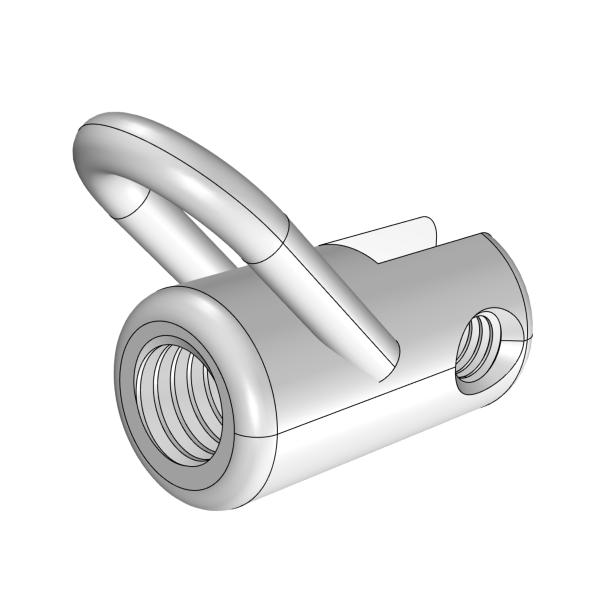 Push rod - hull - rear end